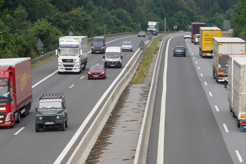 Auf der A 4 in Richtung Bautzen gibt es neue Verkehrseinschränkungen.