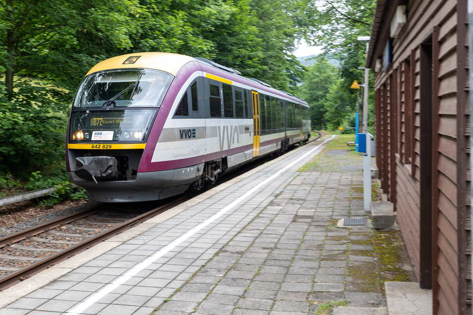 In den letzten Stunden haben sich mehrere Triebwagen der Mitteldeutschen Regiobahn verspätet.