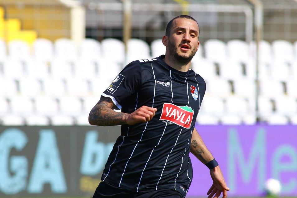 Der beste Spieler in der 3. Liga: Sercan Sararer. Steht er kurz vorm Wechsel aus München zu Dynamo?