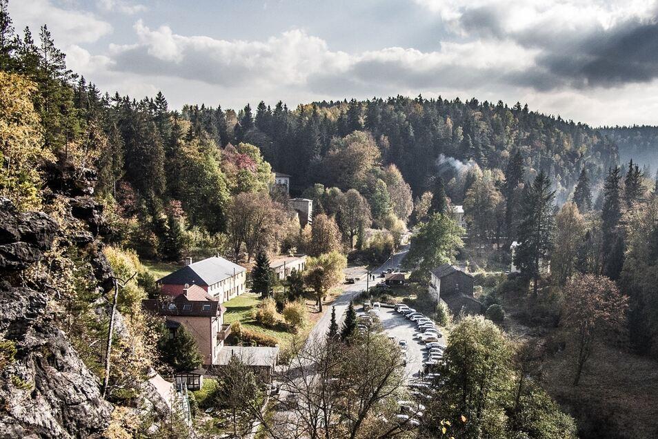 Heute ist der einstige Kur- und Badeort als solcher nicht wiederzuerkennen. Das wollen die Eigentümer des Geländes aber ändern und an alte Traditionen anknüpfen.