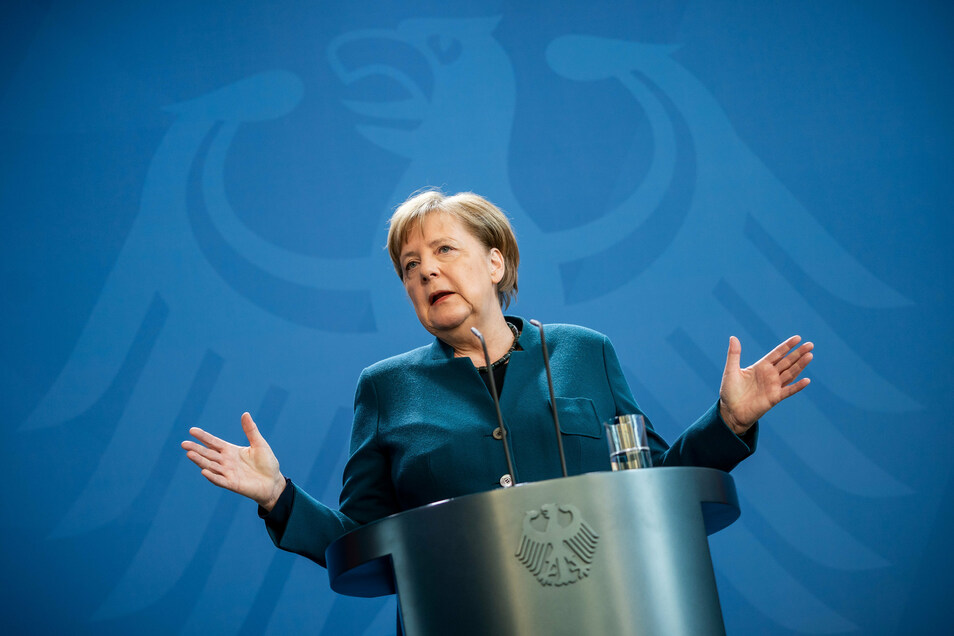 Merkels Botschaft aus der Quarantäne: