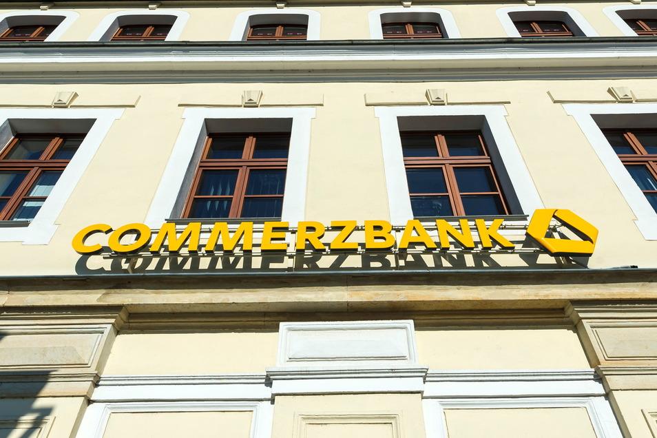 Die Commerzbank-Filiale am Altmarkt in Bischofswerda wurde im vorigen Jahr geschlossen.