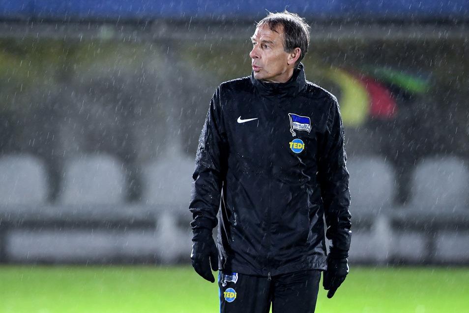 Nach nur zehn Wochen trat Jürgen Klinsmann als Cheftrainer von Hertha BSC Berlin Anfang Februar zurück.
