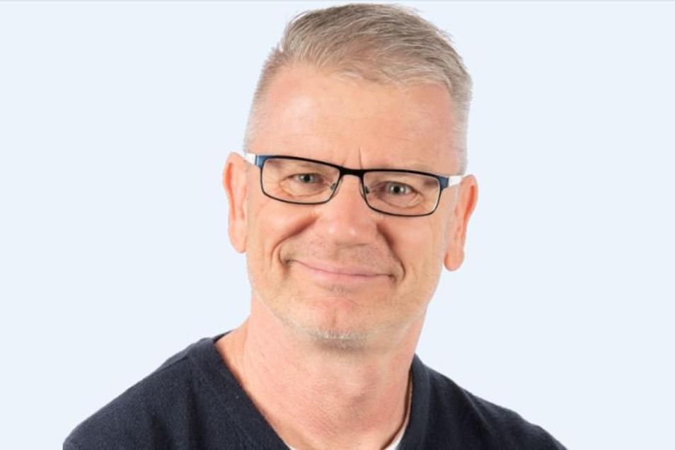 Sven Heisig ist Stadtrat für die CDU und in Freital als Feuerwehrmann angestellt.