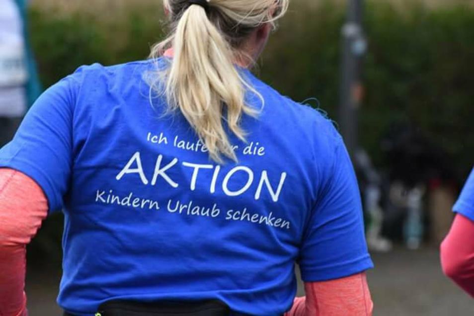 Diese T-Shirts bekamen alle Teilnehmer des Spendenlaufes der Diakonie.