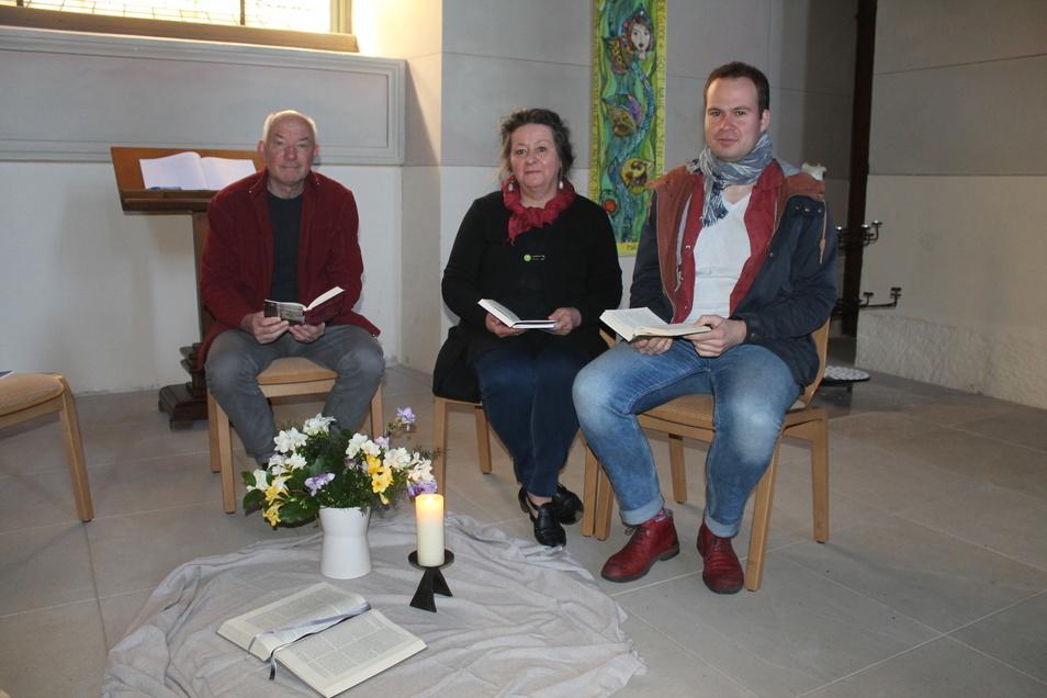Jeden Mittwoch lädt die evangelische Gemeinde zum Friedensgebet ein.