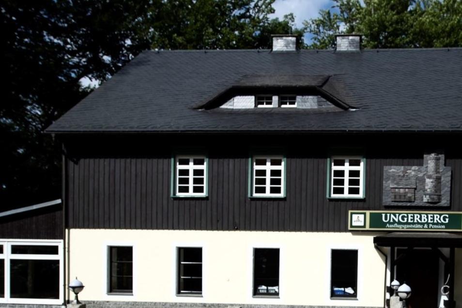 … als auch die Gaststätte Ungerberg.