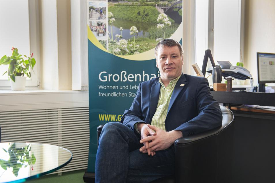 Großenhains Oberbürgermeister Sven Mißbach (parteilos) macht sich ernste Gedanken. Und erwartet weitere Einschnitte für seine Stadt.