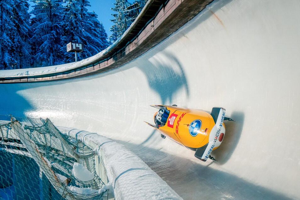 Gleich drei Weltcups (2x Bob/Skeleton, 1xRodeln) finden im Dezember im Altenberger Eiskanal statt. Für Bob-Dominator Francesco Friedrich heißt das: zweimal Heimspiel.