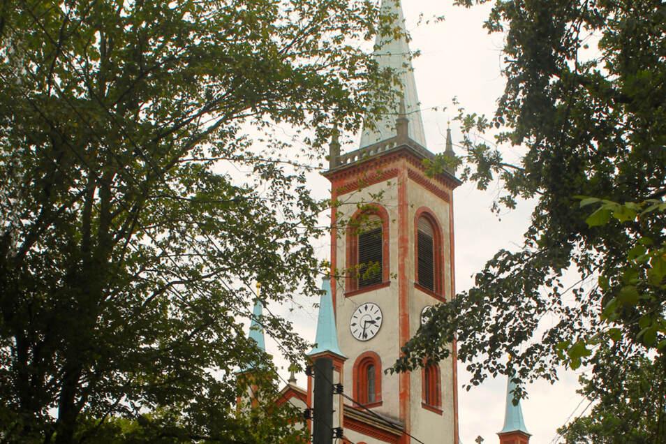 Die Matthäuskirche prägt das Bild von Dittelsdorf.
