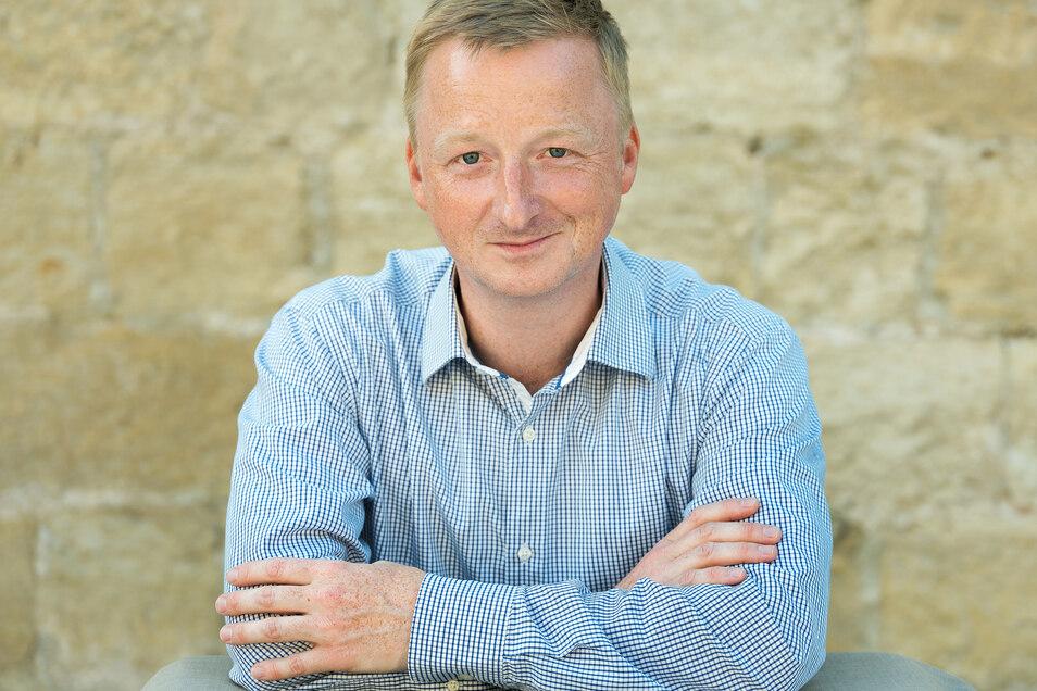Der Vorsitzende des Weinbauverbandes Sachsen Thomas Michael hofft auf eine schnelle Rückkehr von Einheimischen und Touristen in die hiesigen Weingüter.