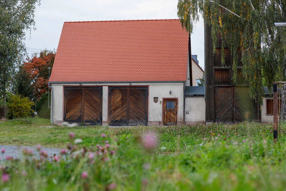 Das ehemalige Feuerwehrdepot am Kretschamweg in Dittelsdorf.