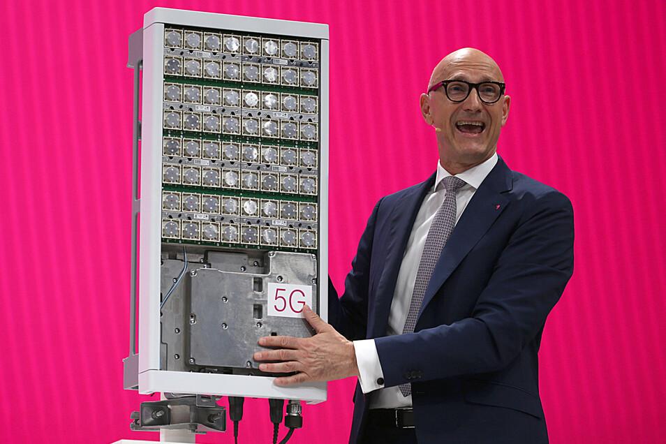 Timotheus Höttges, Vorstandsvorsitzender der Deutschen Telekom,.