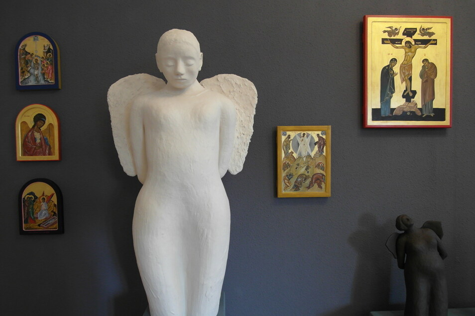 """Wer einem Kunst- und Engelsliebhaber eine Freude machen möchte, wird in der Galerie """"Himmlisch"""" fündig."""