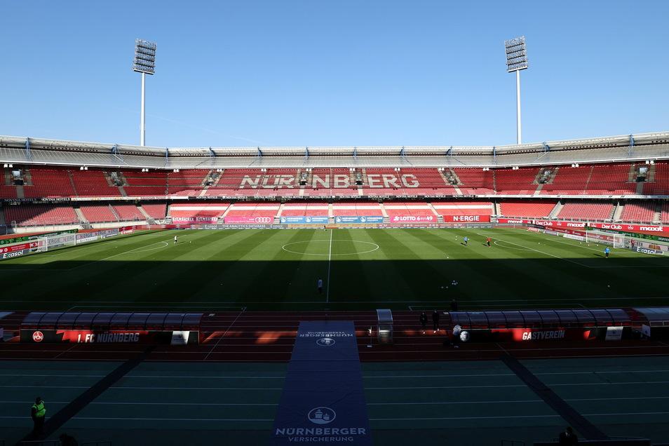 1. FC Nürnberg | Max-Morlock-Stadion | Kapazität: 50.000 | Auslastung: 17.500 | Auslastung in Prozent: 35.