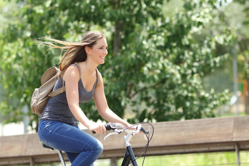 So macht Radfahren Spaß.