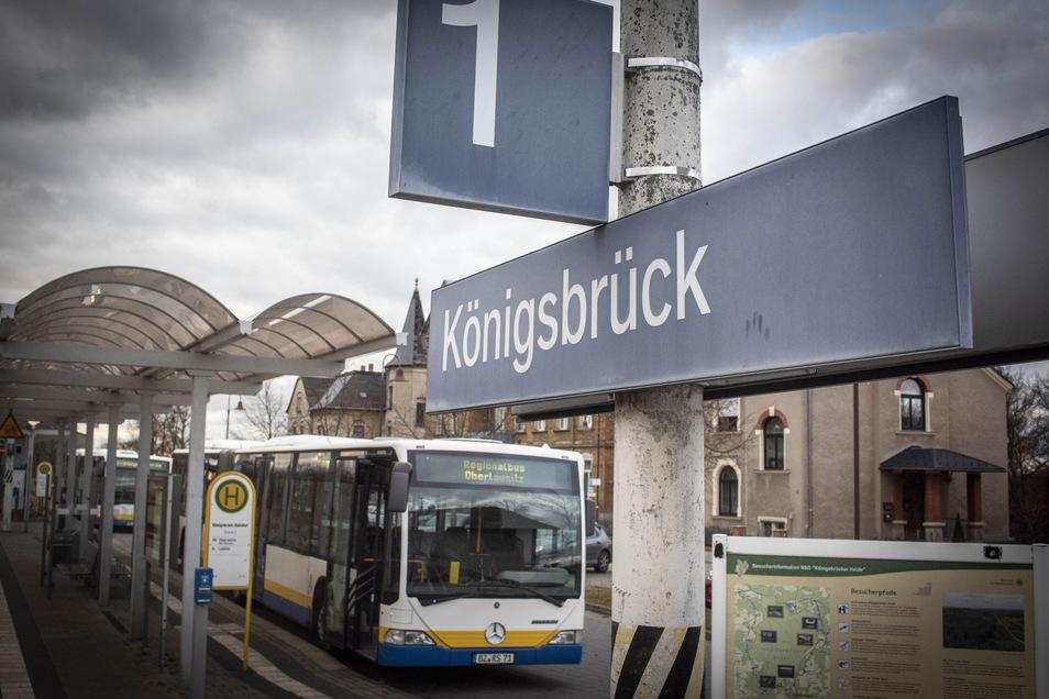 Zwischen Königsbrück und Dresden werden am Montag einige Züge durch Busse ersetzt.