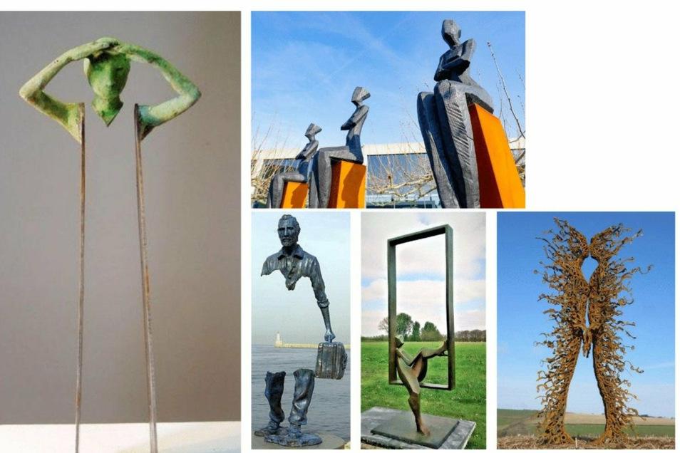 Beispiele wie diese zeigen, wie ein besonderes Kunstwerk ein Highlight an einem Fotopunkt setzen und sogar zu einem Markenzeichen des O-Sees werden könnte.