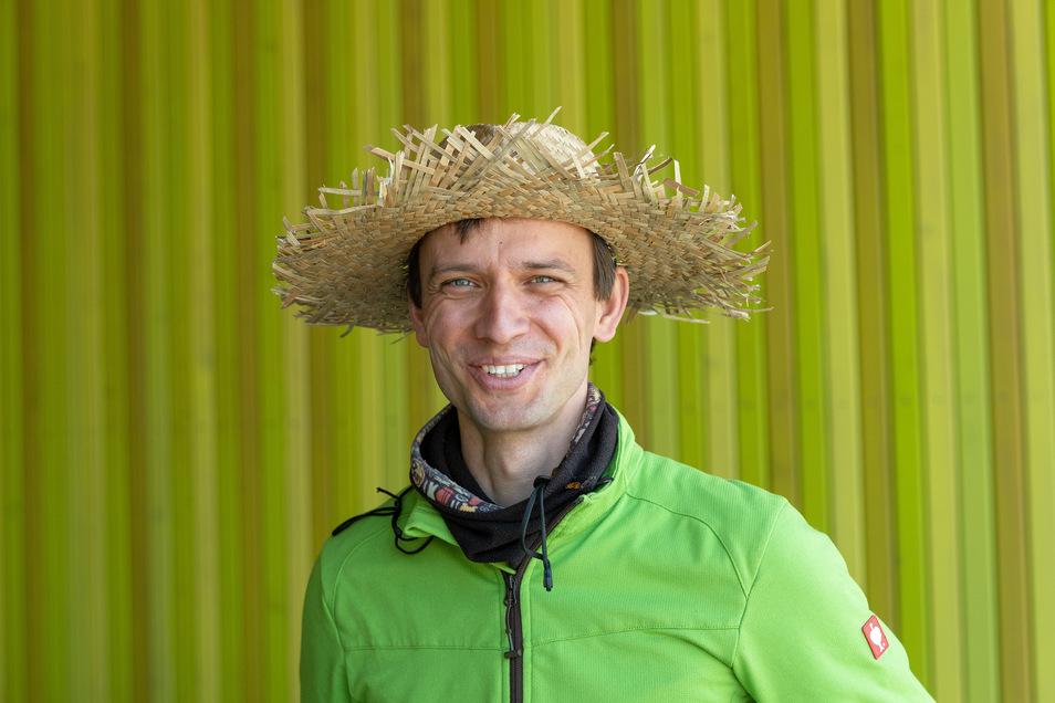 Torsten Mick, Mitgründer und Geschäftsführer der Grünerdüngen GmbH. Der Agrarwirt kümmert sich um Vertrieb und Logistik.