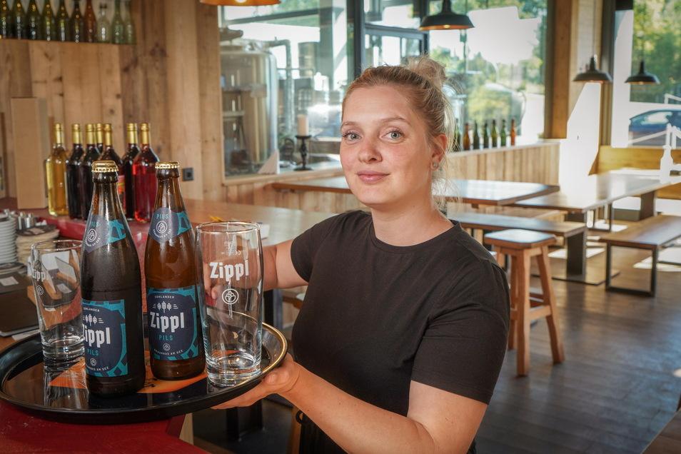 Seit zwei Jahren ist Kateřina Bendová im Sohlander Brauhaus am See angestellt. Fast ein Jahr davon verbrachte sie im Lockdown in Tschechien.