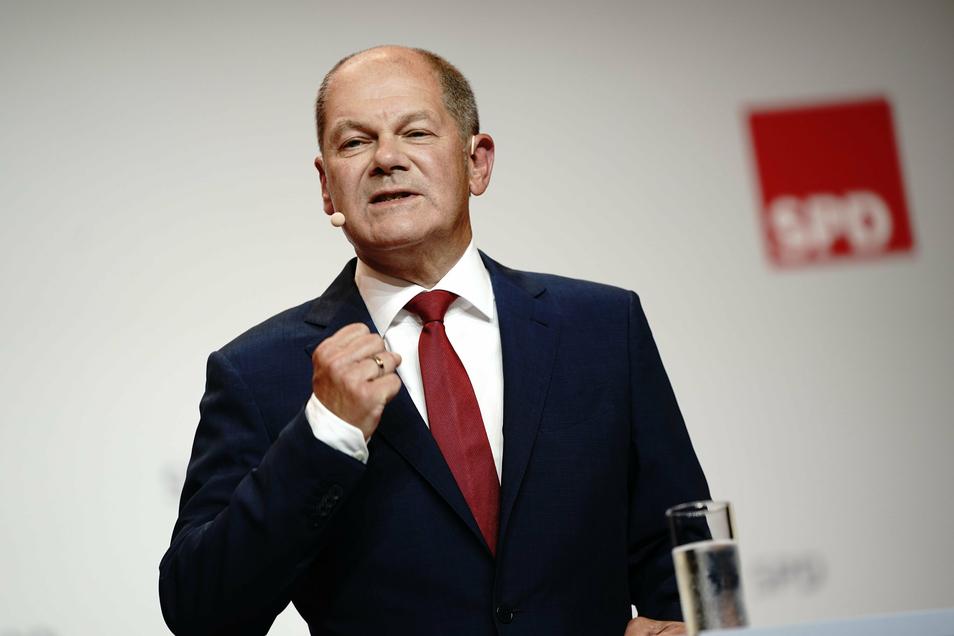 Vorstand und Präsidium der SPD hatten Olaf Scholz am Montag einstimmig als Kanzlerkandidaten für die Bundestagswahl 2021 nominiert.