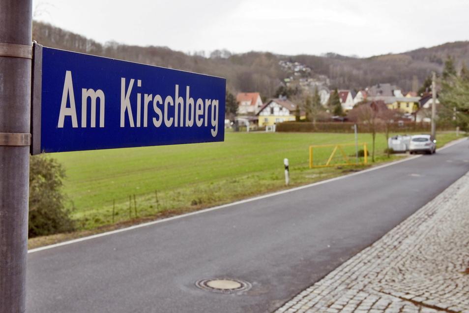 Einige Zufahrten zu den Grundstücken sind direkt an der Kreisstraße geplant.