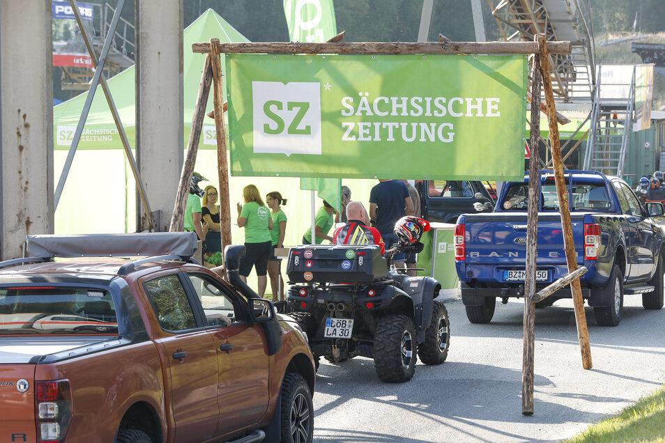 Tasende strömten gestern zum 5. SZ-Offroad-Tag nach Ruppersdorf.
