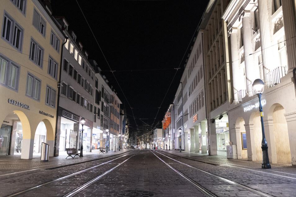 In Freiburg gilt das Betretungsverbot vorerst bis zum 3. April.