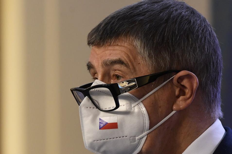 Andrej Babis, Premierminister von Tschechien, mahnt mit Blick auf die neuen Mutationen zur Vorsicht.