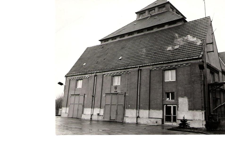 So sah das Gerätehaus der Stahlwerks-Feuerwehr früher aus.
