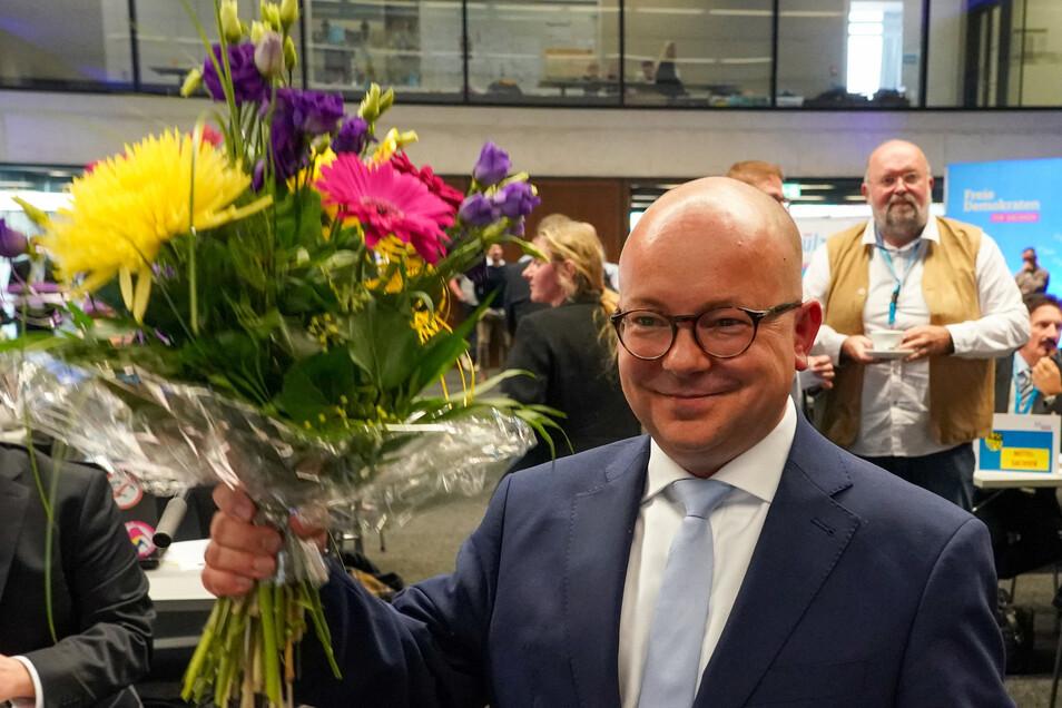 Frank Müller-Rosentritt ist der neue Landesvorsitzende der FDP Sachsen.