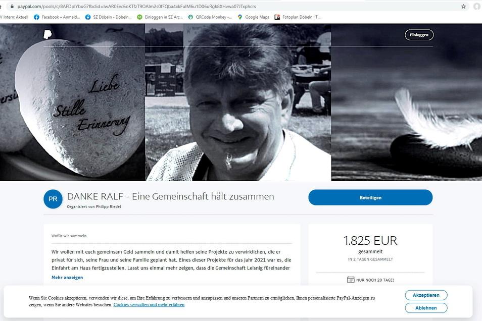 Ralf Herrmann hat viele eigene Projekte nach hinten geschoben, um für andere da zu sein. Jetzt, nach seinem überraschenden Tod, soll das eine oder andere noch mithilfe von Spenden realisiert werden.