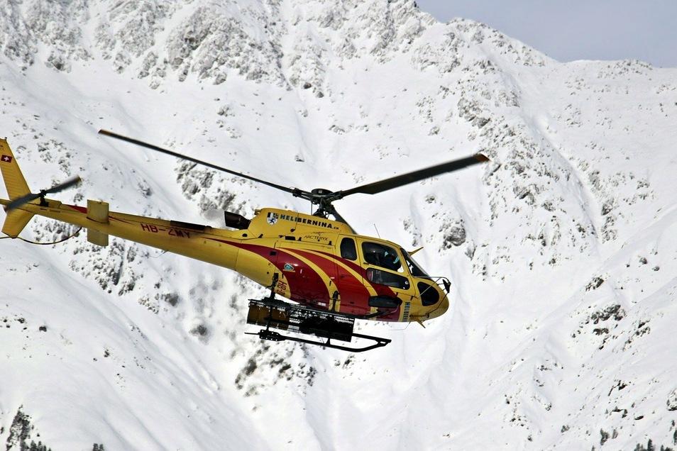 Beim Absturz eines Helikopters in den französischen Alpen sind fünf Menschen ums Leben gekommen. (Symbolfoto)
