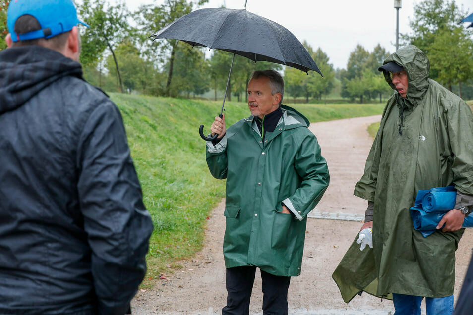 Diesmal mussten die Organisatoren des Arbeitseinsatzes am Olbersdorfer See die Aktion absagen.