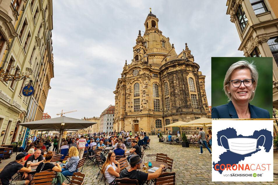 Staatsministerin Barbara Klepsch spricht im CoronaCast über die Aussichten für den Tourismus in Sachsen im Sommer - und danach.