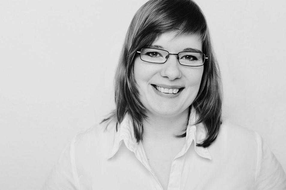 Wiebke Helmcke ist Projektkoordinatorin bei der Vernetzungsstelle Schul- und Kitaverpflegung.