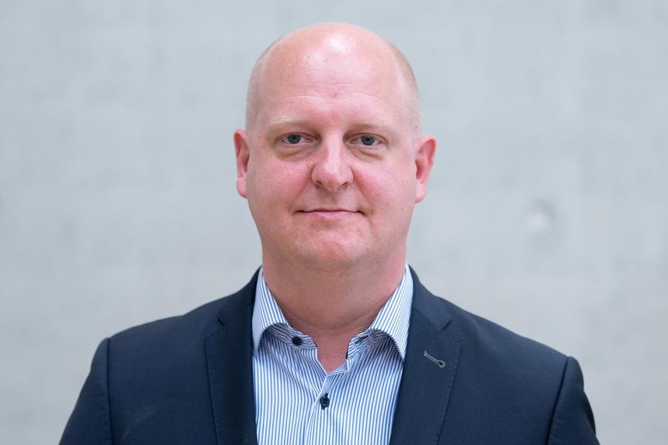 Henning Homann ist der Generalsekretär der sächsischen SPD.