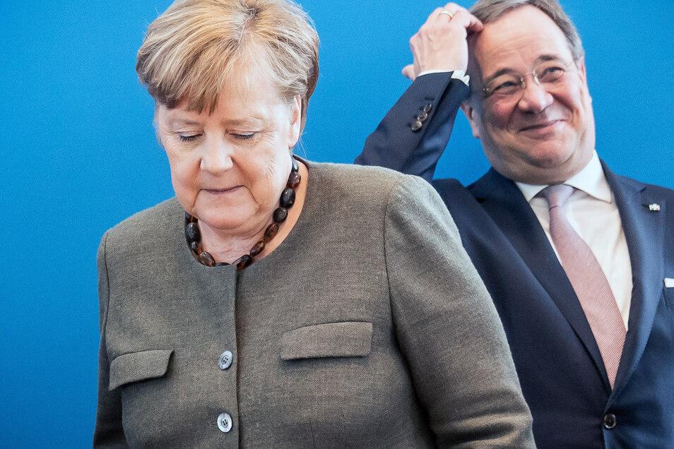 Wird Armin Laschet in Dresden oder Leipzig zum Merkel Nachfolger gewählt? Der 59-Jährige hätte wahrscheinlich nichts dagegen.