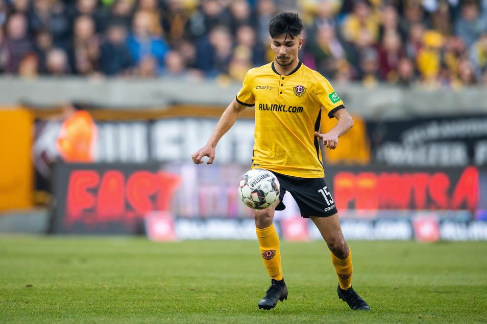 Wie lange spielt Osman Atilgan noch im Dynamo-Trikot?