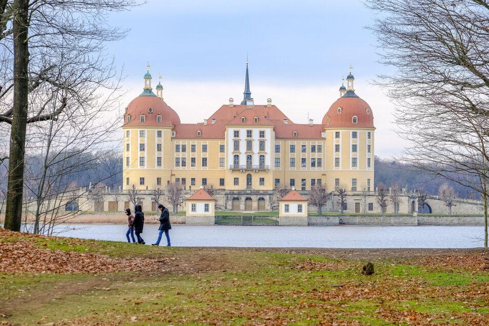 Das Museum im Schloss Moritzburg öffnet am Freitag wieder seine Türen.