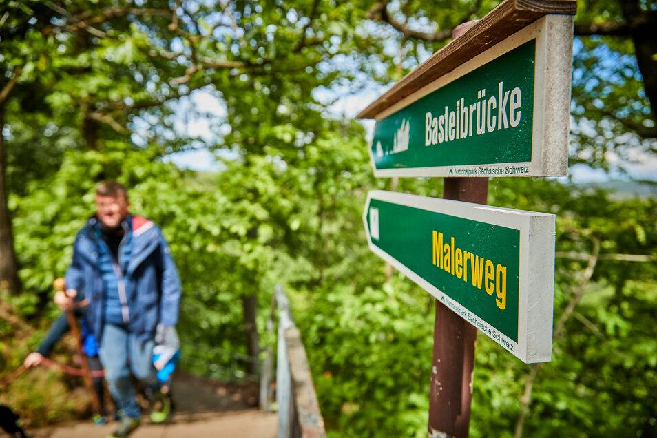 Früher beliebt bei Künstlern, heute bei Touristen: Der Malerweg in der Sächsischen Schweiz.