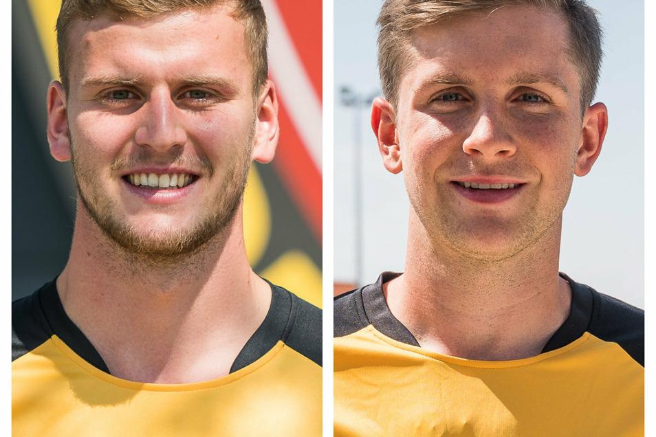 Dynamo Dresden Neuzugänge Christoph Daferner (l.) und Patrick Weihrauch