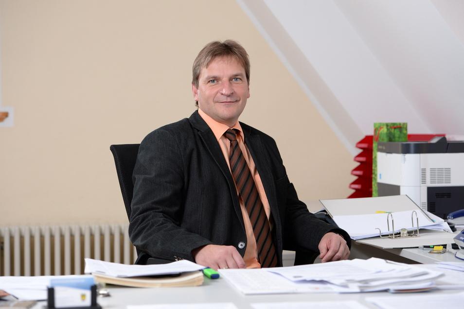 Peter Antoniewski arbeitet derzeit als Beigeordneter in der Stadt Dippoldiswalde. Im Oktober läuft sein Vertrag aus.
