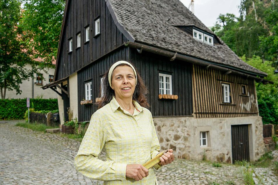 Gerlind Alius, Türmerin der Neuen Wasserkunst, hat große Pläne für das Bautzener Hexenhäusel.
