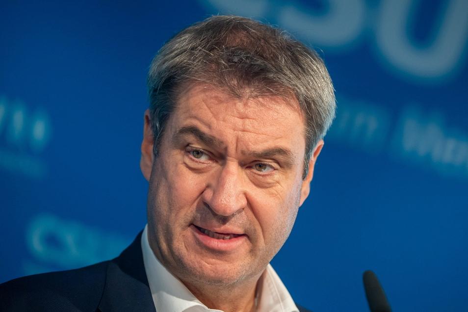 Markus Söder (CSU) sieht die Vorentscheidung für eine Ampelkoalition gefallen.