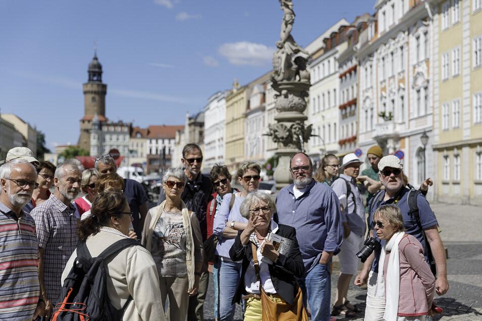 Das wäre kurz vor Ostern der normale Anblick in der Görlitzer Altstadt: Die Straßen und Plätze voller Touristen.
