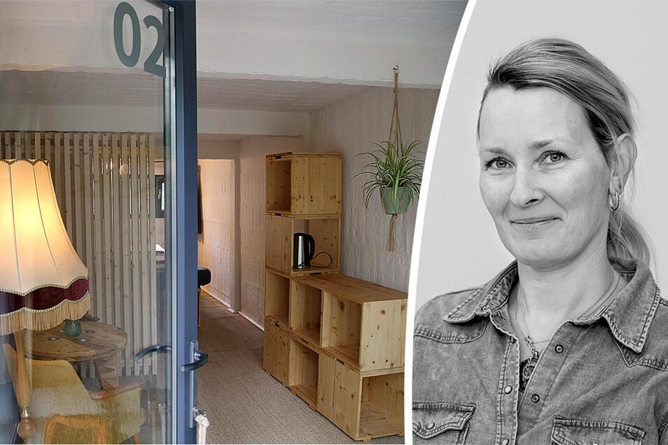 Aus Garage wird Ferienzimmer: ein außergewöhnliches Übernachtungsangebot, dazu noch urgemütlich, findet Redakteurin Daniela Pfeiffer.