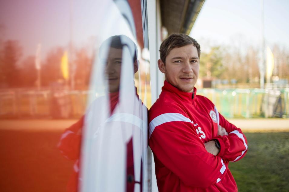 Ex-Dynamo Robert Koch hat zum Abschluss seiner Karriere bei Eintracht Niesky gespielt. Jetzt hat er eine neue Aufgabe.