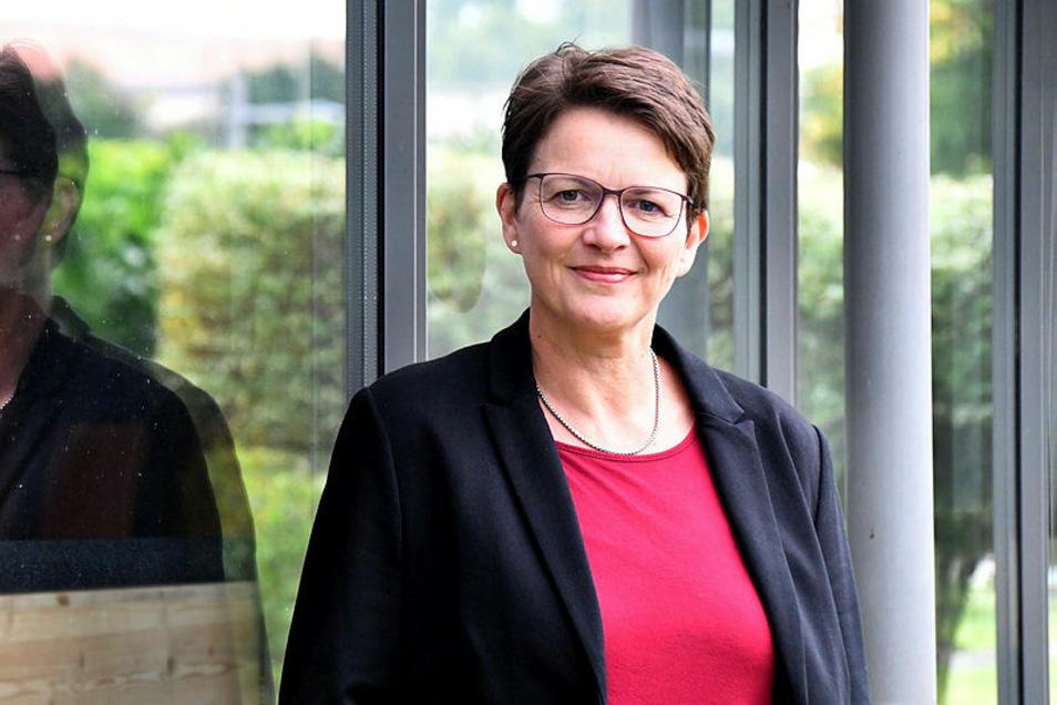 Silke Müller kandidiert für die FDP um ein Dresdner Direktmandat im Bundestag.