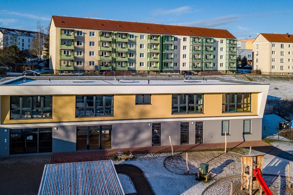 Der Neubau der Kindertagesstätte an der Waldheimer Breuningstraße ist teurer geworden als geplant.
